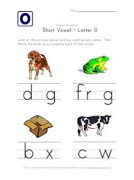Phonics printable worksheets and activities (word families). Short Vowel O Worksheet All Kids Network