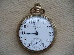 vintage antique elgin mens gold pocket watch working good image is loading vintage antique elgin mens gold pocket watch working