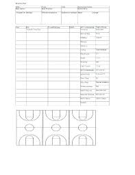 Basketball Depth Chart Template Thepostcode Co