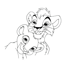Pride Coloring Pages Lion King 2 Coloring Pages Lion King Coloring Pages Lion King 2