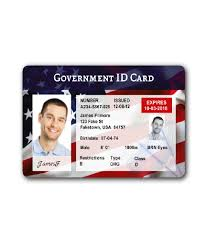A Card Id License Usa Driver's Government Real Buy