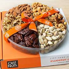 oh nuts holiday gift basket roasted nut variety fresh ortment tray gourmet