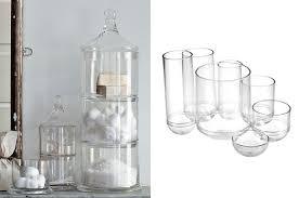 mercury glass bathroom accessories. Bathroom Accessories Apothecary Jars Umbra Mercury Glass