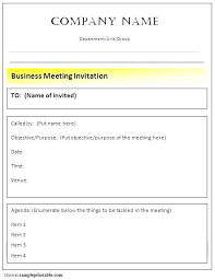 Meeting Announcement Template Sample Notice Of Meetings Staff Meeting Announcement
