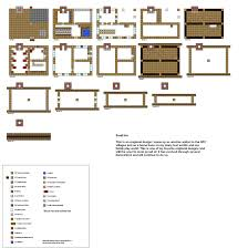Small Picture Minecraft floorplans small Inn by ColtCoyote on deviantART