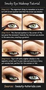 smoky eye makeup tutorial s needed dark brown eyeliner black eyeliner dark brown eyeshadow charcoal eyeshadow light bro