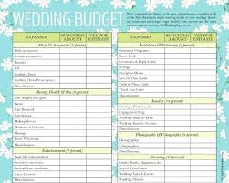 wedding budget template for excel designed wedding budget template for download estimate nz excel