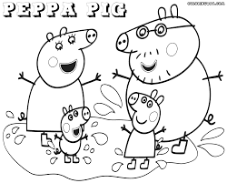 Small Picture Peppa Pig coloring pages Coloring pages to download and print
