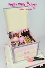 make up box cake at pretty witty cakes