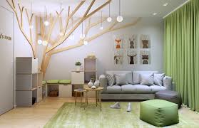 Tree Design Wallpaper Living Room Clever Kids Room Wall Decor Ideas Inspiration