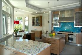 recycled glass countertops cost recycled glass 9 spectacular cost decorating ideas in kitchen contemporary design photo