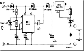 12 volt nicd battery charger design circuit diagram for your diy 12 volt battery charger circuit diagram pdf at 12 Volts Battery Charger Circuit Diagram