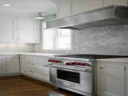 Marble Tile Backsplash Kitchen How To Install A Marble Tile Backsplash Hgtv Marble Kitchen
