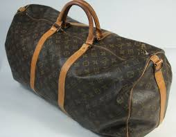 louis vuitton luggage carry on. louis vuitton vintage monogram large duffle carry-on bag 23.5\ luggage carry on