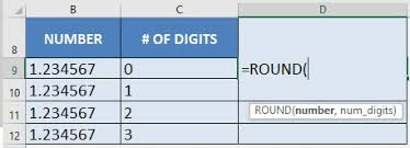 Excel Round Formulas Round Off Numbers With Excels Round Formula Free