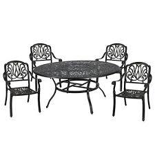 casainc 5 piece aluminum outdoor dining