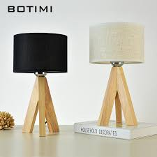 wood lighting. Luxury Wooden Linen Table Lamp Wood Lighting
