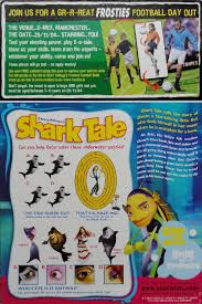 2004 Shark Tale Puzzle Football Challenge Poster Issued