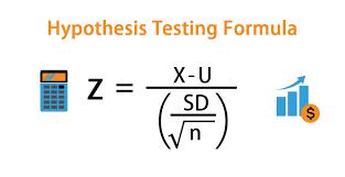 hypothesis testing formula calculator
