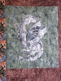Dragon Lady Quilts Electric Fans By Aardvark Quilts ... & Closeup Of Dragon Art Quiltquilted By Cedar Valley Quilts Dragon Lady Quilts  ... Adamdwight.com