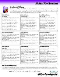 Weight Loss Menu Planner Template 20 Weight Loss Menu Planner Template Simple Template Design