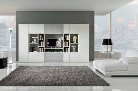 White Living Room Storage Cabinets Living Room Minimalist Grey Living Room Storage Combined With
