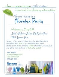 party invite examples norwex party invite template cloveranddot com