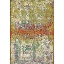 outdoor crumpled multi 5 3 x 8 0 area rug