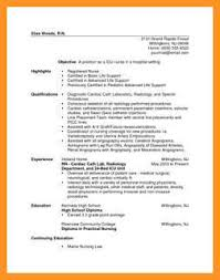 Rn New Grad Resume 14 15 Rn Resume Samples New Grad Southbeachcafesf Com