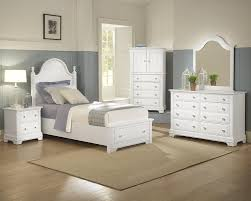 Vaughn Bassett Furniture Cottage Collection Featuring Panel