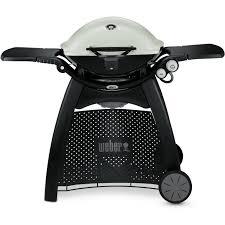 B And Q Kitchen Appliances Weber Q 3200 Freestanding Propane Gas Grill Titanium Bbq Guys
