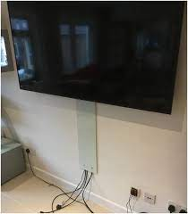 mirage designer glass tv cable cloaking