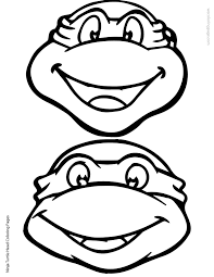 Small Picture Teenage Mutant Ninja Turtles 2 Coloring Page Free Printable