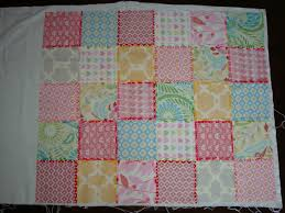 TROLLEY How to make a patchwork baby blanket no quilting necessary ... & TROLLEY How to make a patchwork baby blanket no quilting necessary How To  Make A Patchwork Quilt Adamdwight.com
