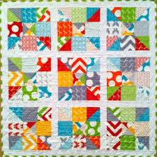 half moon modern charm pack quilt   made with 2 charm packs …   Flickr & ... half moon modern charm pack quilt   by SUPPOSE - create - delight Adamdwight.com
