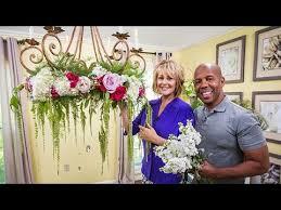 ken cristina s diy flower chandelier