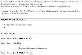 Create Resume Free Online Srhnf Info