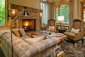 cozy living room with fireplace.  Living In Cozy Living Room With Fireplace O