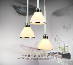 modern minimalist three small glass chandeliers european art restaurant lights bar racks kitchen lamps frosted glass chandeliers simple three small glass