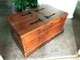 wooden box coffee table wooden chest plans wooden trunk coffee table wood chest coffee table plans