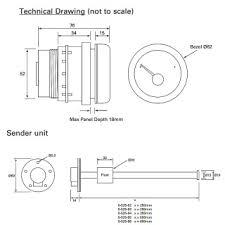 0 525 06 durite 12v 24v marine fuel gauge fuel level indicator Fuel Gauge Problems at Durite Fuel Gauge Wiring Diagram
