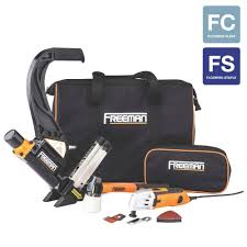freeman pneumatic hardwood flooring nailer and multi cutter bo kit