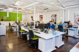 google office space design. not actual photo of company open office spaces for collaboration with co google space design