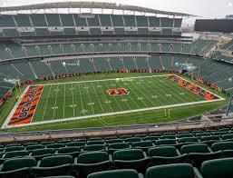 Paul Brown Stadium Section 342 Seat Views Seatgeek