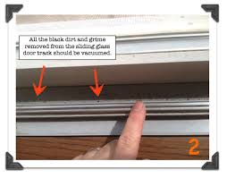 how to remove sliding glass door frame