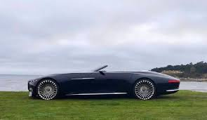 2018 maybach vision. contemporary 2018 vision mercedesmaybach 6 cabriolet the twoseater model pays homage to  the glorious u201cautomotive haute coutureu201d with 2018 maybach vision c