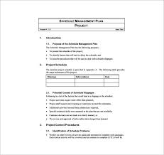 Project Management Plan Template 11 Free Word Pdf Excel