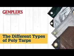 The Different Types Of Poly Tarps And The Best Tarp For What You Need Covered Tips From Gemplers