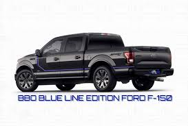 Brothers Before Others Blue Line Edition Ford Truck