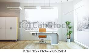 modern interior office stock. Interior Design Of Modern Office Stock Illustration N